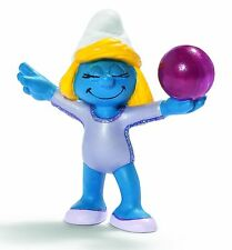 NEW WITH TAG - OLYMPIC GYMNAST SMURF OLYMPICS by SCHLEICH FRM THE SMURFS - 20740