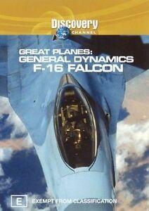 Great Planes - General Dynamics F-16 Falcon (DVD, 2002)