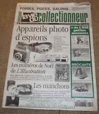 Vie du Collectionneur 204 Appareils photo d'espions L'illustration Noël Manchons