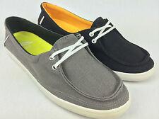 """VANS. """"Surf Siders"""" RATA LO Women's Canvas Shoes. BLACK & GREY US W 10 10.5 & 11"""