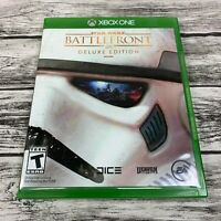 Star Wars Battlefront Deluxe Edition (Xbox One, 2015) EA Shooter Game Complete