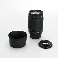 Nikon Nikkor AF 70-300mm F4.5-5.6 G Autofocus Telephoto Zoom Lens w/Hood No BIM
