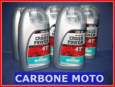 5 LITRI OLIO MOTOREX CROSS POWER 10W60 4T 100% SINTETICO CONSIGLIATO KTM