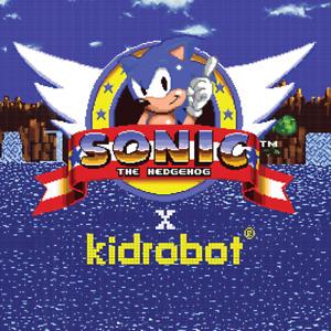 KIDROBOT x SEGA Sonic the Hedgehog LIMITED EDITION Collectible Vinyl Art