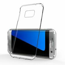 Samsung Galaxy S7 Edge Handy Hülle Silikon Cover Schutzhülle Soft Case Slim Klar