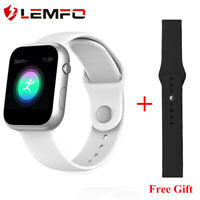 Lemfo SX16 Reloj inteligente Podómetro Bluetooth Android IOS  Reloj de Apple