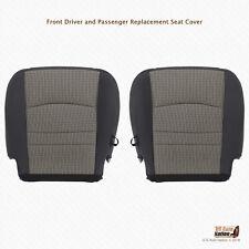 2011 2012 Dodge Ram 3500 4500 SLT DRIVER-PASSENGER Bottom CLOTH Seat Cover GRAY