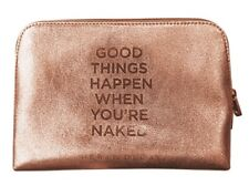 Urban Decay Naked Gold Makeup Bag