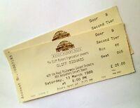 Cliff Richard Tickets / Stubs Royal Albert Hall London 13/03/99 Memorabilia