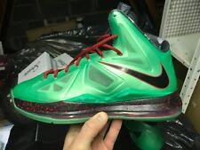 Nike Lebron X 10 Jade Taille UK 11.5