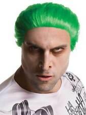 Peluca para hombre suicidio escuadrón Joker Adulto Accesorio Halloween Vestido de Fantasía Película Villano