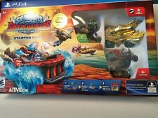 PS4 Skylanders Superchargers Game With Rare Gold Hot Streak New In Box