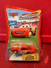 DISNEY PIXAR CARS RACE O RAMA IMPOUND LIGHTNING McQUEEN CHASE CONFETTI