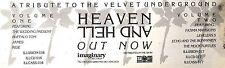 9/2/91PN48 ADVERT: HEAVEN & HELL A TRIBUTE TO VELVET UNDERGROUND 3X11