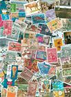 World, Collection lot of 100 different worldwide stamps, timbres, briefmarken