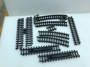 Tri-ang  TT 12 assorted Type B tracks ,good used condition.unboxed.