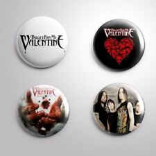 4 BULLET FOR MY VALENTINE - Pinbacks Badge Button Pin 25mm 1''