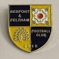 Bedfont & Feltham FC Enamel Badge