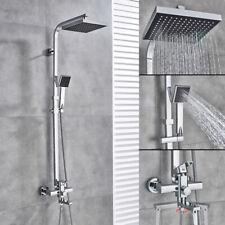 Conjunto de sistema de grifo de ducha tipo lluvia para baño con cabezal de ducha