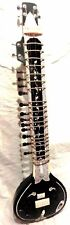 ELECTRIC SITAR SHRI RAVI SHANKAR STYLE DESIGNER TUN WOOD =BAG STRING & MIZRAB