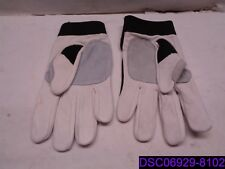 Qty = 5 Pairs + 2 Left Hand (12 Pieces Total): Ns Athletic Gloves Black & White