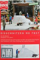 """Busch H0 7857 ACTION SET """"Eisschnitzen"""" 1:87/H0 NEU/OVP"""