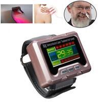 Handgelenk-Dioden-Therapie-Uhr-Vorrichtung 650nm für Diabetes-Blutdruck EU PLUG