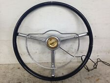 1950 - 1954 CHRYSLER IMPERIAL NEW YORKER WINDSOR STEERING WHEEL OEM WITH BUTTON