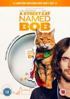 Nuevo un Calle Gato Llamado Bob y Libro - Edición Limitada en DVD
