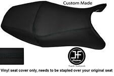 BLACK VINYL CUSTOM FOR HONDA CBR 1100 XX SUPER BLACKBIRD 96-07 SEAT COVER ONLY