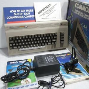 Commodore 64 Personal Home Computer in Original Box