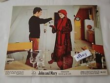 1969 JOHN AND MARY Hoffman Mia Farrow Movie Lobby Card Press Photo 8 x 10 E