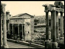 ROMA - FORO ROMANO - BELLISSIMA FOTO D'EPOCA/OLD PHOTO ANNI 40 CIRCA