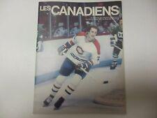 MONTREAL CANADIENS NHL PROGRAM VS ISLANDERS 1981 3/26 MONTREAL FORUM