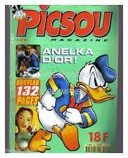 PICSOU MAGAZINE N° 326  DE 1999  TBE  + ENCART SPORTY MAG N° 1CHAMPION