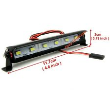 RC 1/10 Aluminum LED Light Bar 6V ~ 7.4V JR Plug 6 lights For Axial RC4WD Tamiya