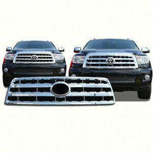 FITS 2008-2019 Toyota Sequoia SR5 Limited Platinum # GI62 Chrome Grille Insert