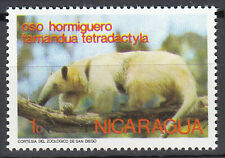 Nicaragua Briefmarke postfrisch Tamandua Ameisenbär Bär Tier Wildtier Natur / 27