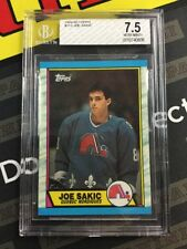 1989-90 Topps #113 Joe Sakic Rookie RC Card BGS 7.5 Nordiques