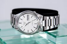 Superb Men's Vintage Seiko 5 Stainless 17 Jewel Automatic Day Date Watch
