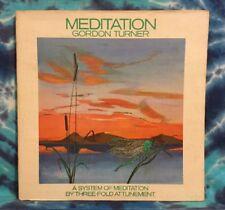 Gordon Turner  LP  Meditation  THREE-FOLD ATTUNEMENT  Elysion ER-1000  RARE
