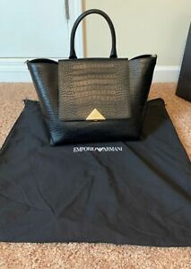 Emporio Armani Handbag. Genuine Leather & Dust Bag Included.