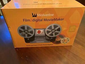 Wolverine  Movie Maker 8mm & Super 8 reels digitizer