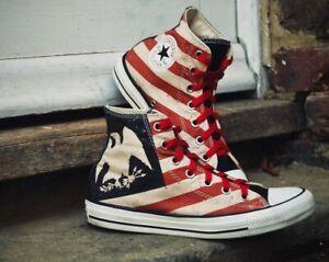 RARE CONVERSE ALL STAR Chuck Taylor M 7.5  W 9.5 AMERICAN EAGLE HI TOP Sneakers