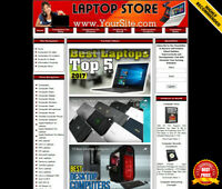 LAPTOP STORE Business Website Sale