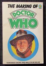 1980 The Making of DOCTOR WHO by Dicks & Hulke FN- 5.5 2nd Target UK Paperback