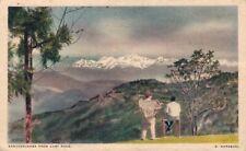 Nepal - Kanchenjunga from cart road 04.93