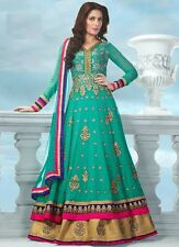 INDIAN Bollywood Ethnic Designer Pakistani Anarkali Salwar Kameez Suit