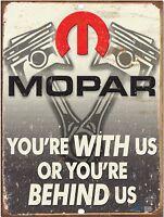 "Vintage Dodge Plymouth MOPAR Reproduction 9""x12"" Metal Tin Aluminum Sign"