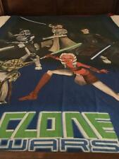 STAR WARS 'CLONE WARS' SINGLE QUILT COVER ONLY - RARE - BUY NOW